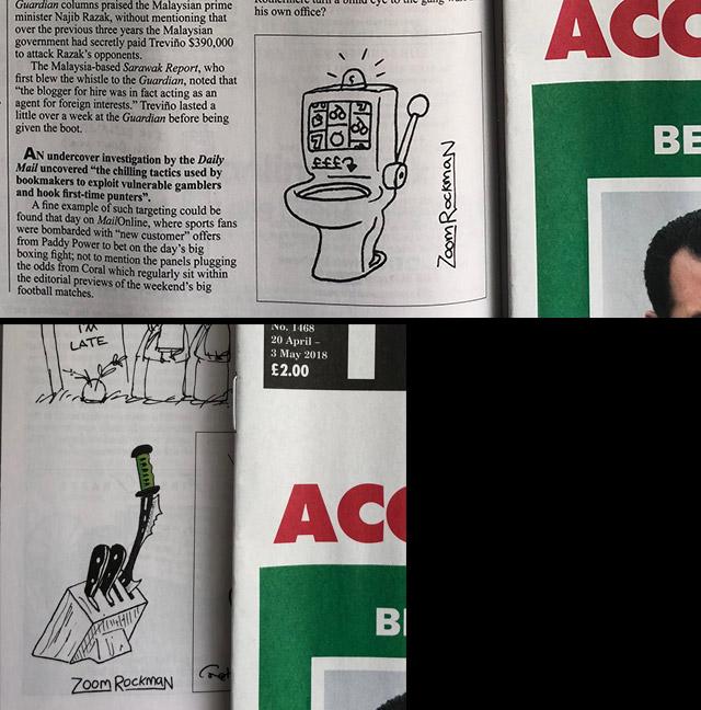 ZOOM ROCKMAN - Satire Comic Artist - Home Page