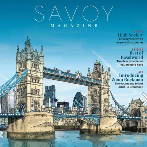 The Savoy Magazine featuring Zoom Rockman