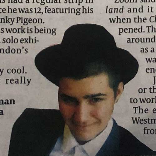 Jewish Chronicle featuring Zoom Rockman