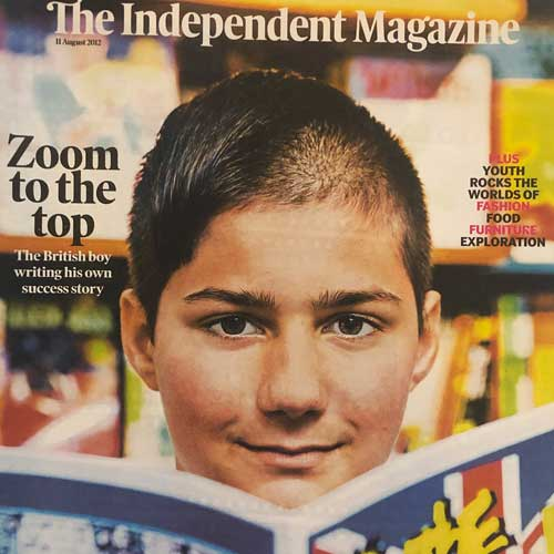 The Independant Magazine featuring Zoom Rockman