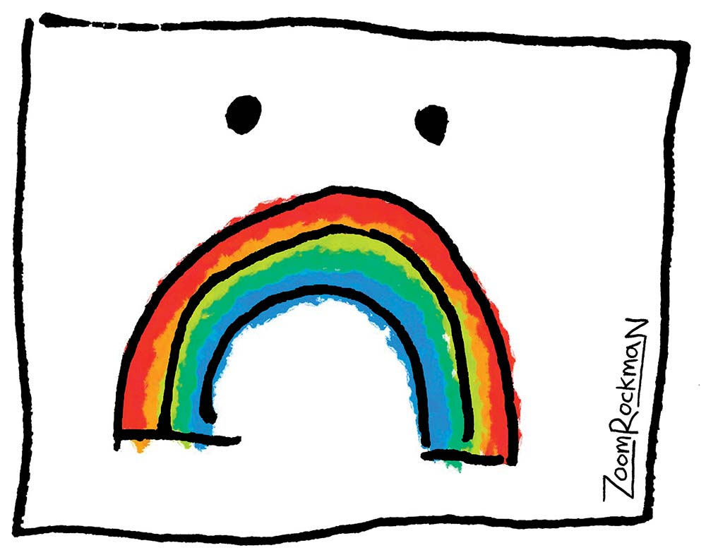 Join my Sad Rainbow T Shirt campaign